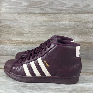 Adidas Pro Model Red Night High Top Sneakers